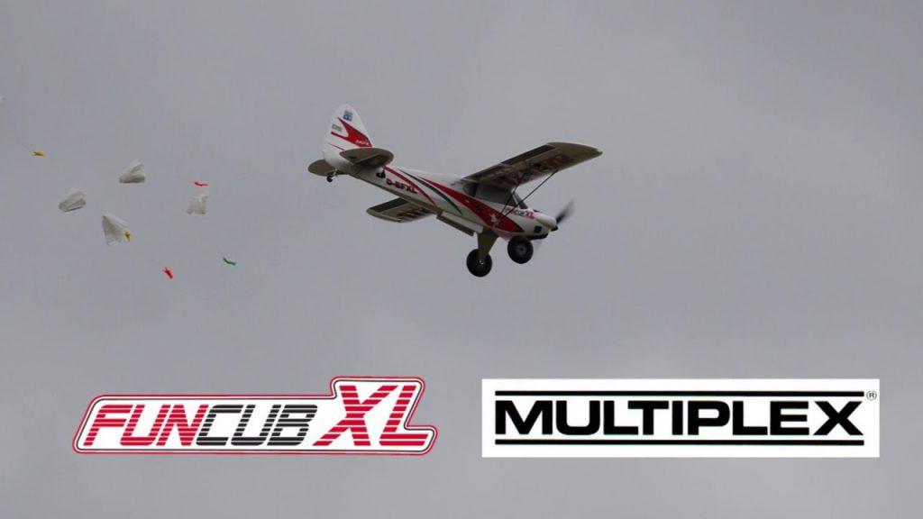 Erstflug Fun Cub XL von Multiplex