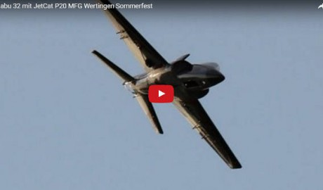 Habu 32 mit Jet Cat P20